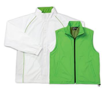 54 ホワイト×ライトグリーン