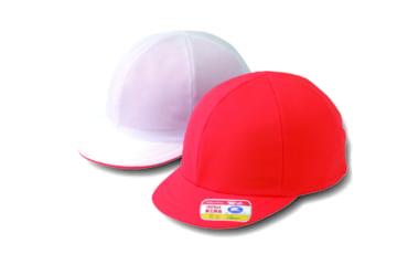 ニット紅白体操帽