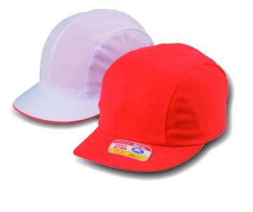 #21 ニット紅白体操帽