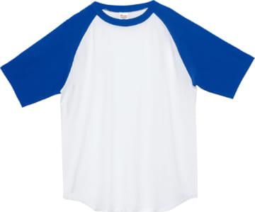 732 ホワイト×ロイヤルブルー