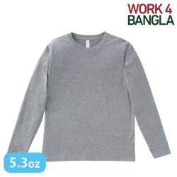 5.3オンス ユーロロングTシャツ