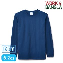 6.2オンスヘビーウェイトロングスリーブTシャツ カラー